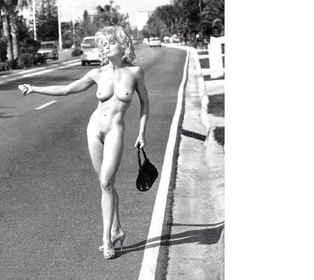 Madonna Hitchhiking