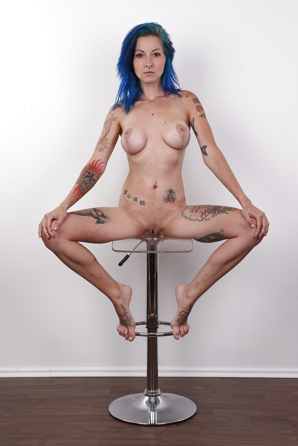 State pierced naked bitches nude