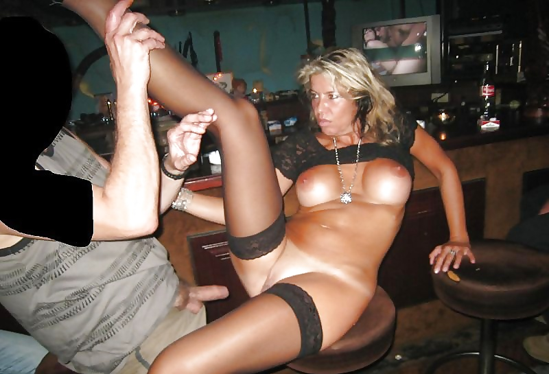 Slut wife bar
