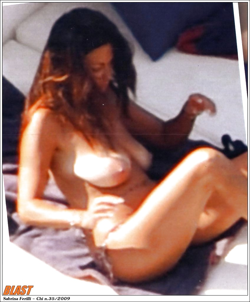 Sabrina ferilli nude fake