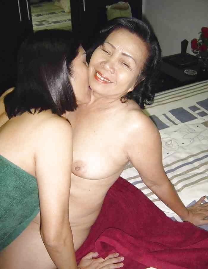 Nude asian mature women