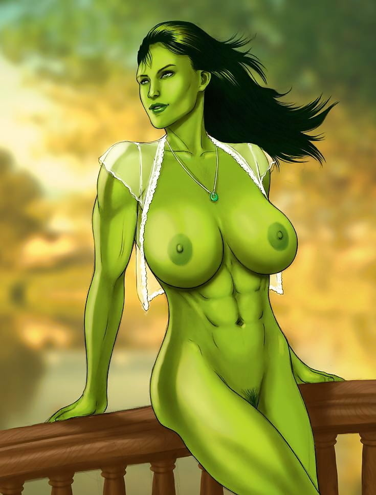 Marvel comics women nude