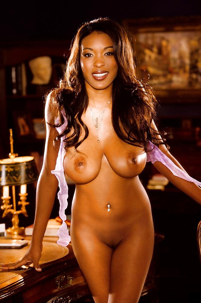 Serria Tawan Sexy Ebony Playmate Wallpapersexy Babesandgirls 1