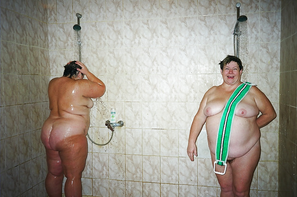 Толстые голые бабы в бане — img 4