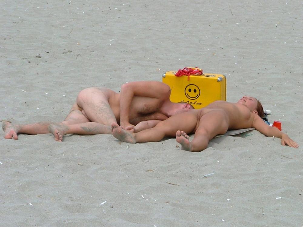 Секс на пляже в казантипе — pic 2