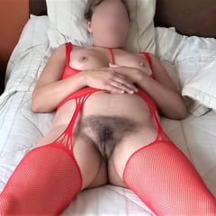 WIFE 58 YEARS OLD, HAIRY PUSSY, EXHIBITIONIST