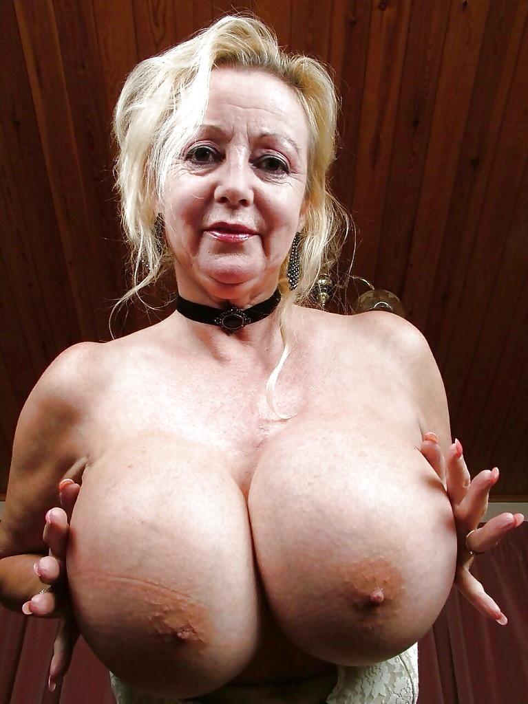 Black granny huge tits