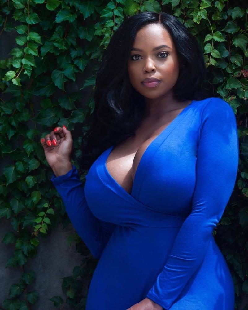 Sexy All Natural Ebony Tits