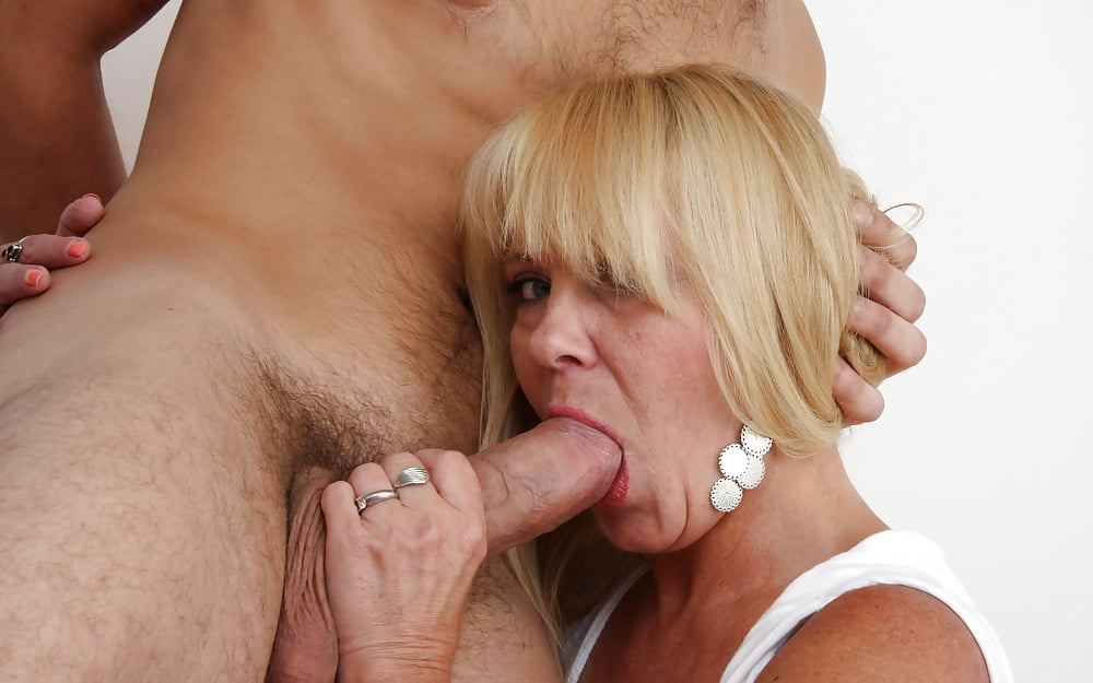 Cum big black cock blond