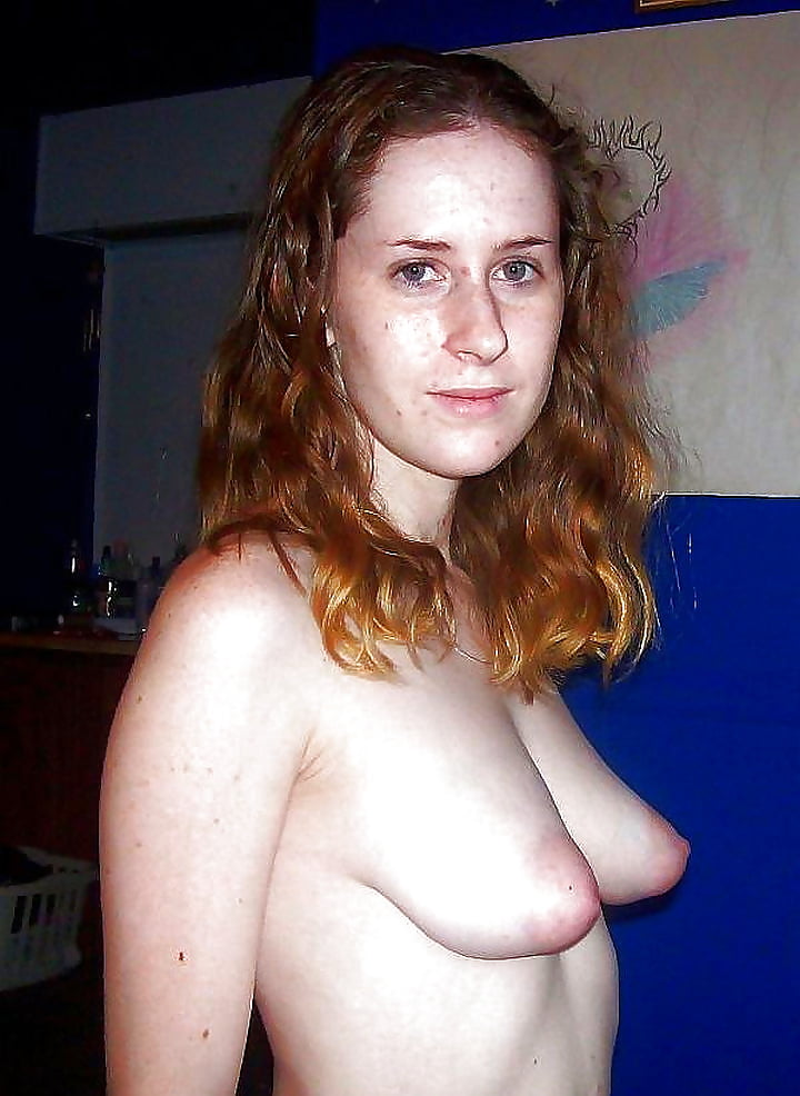 Nude homemade puffy breasts