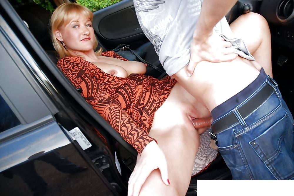 Twinks fuck outdoor exhib on the car big dick outside