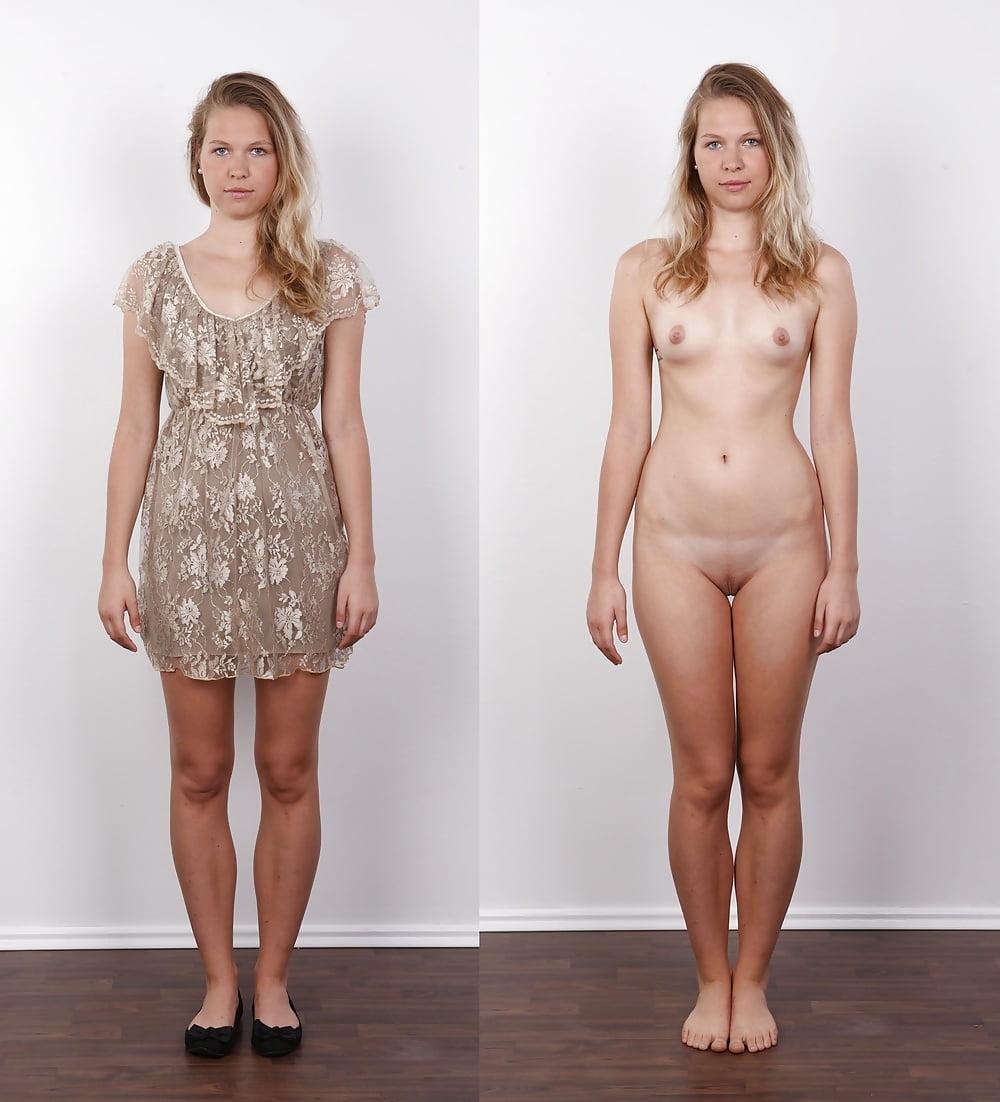 Эротические фото в одежде и без одежды