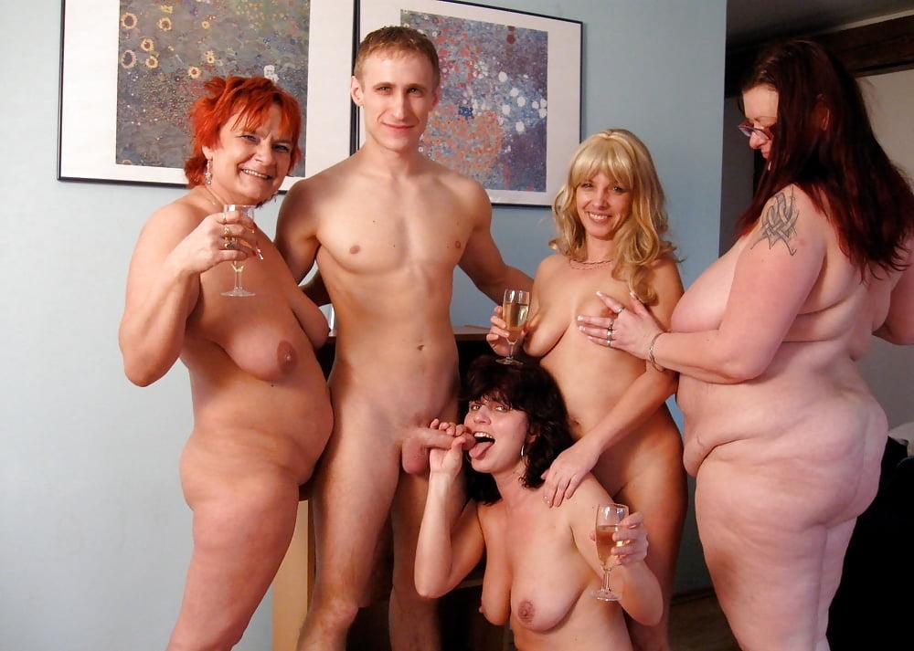 Moms party porn