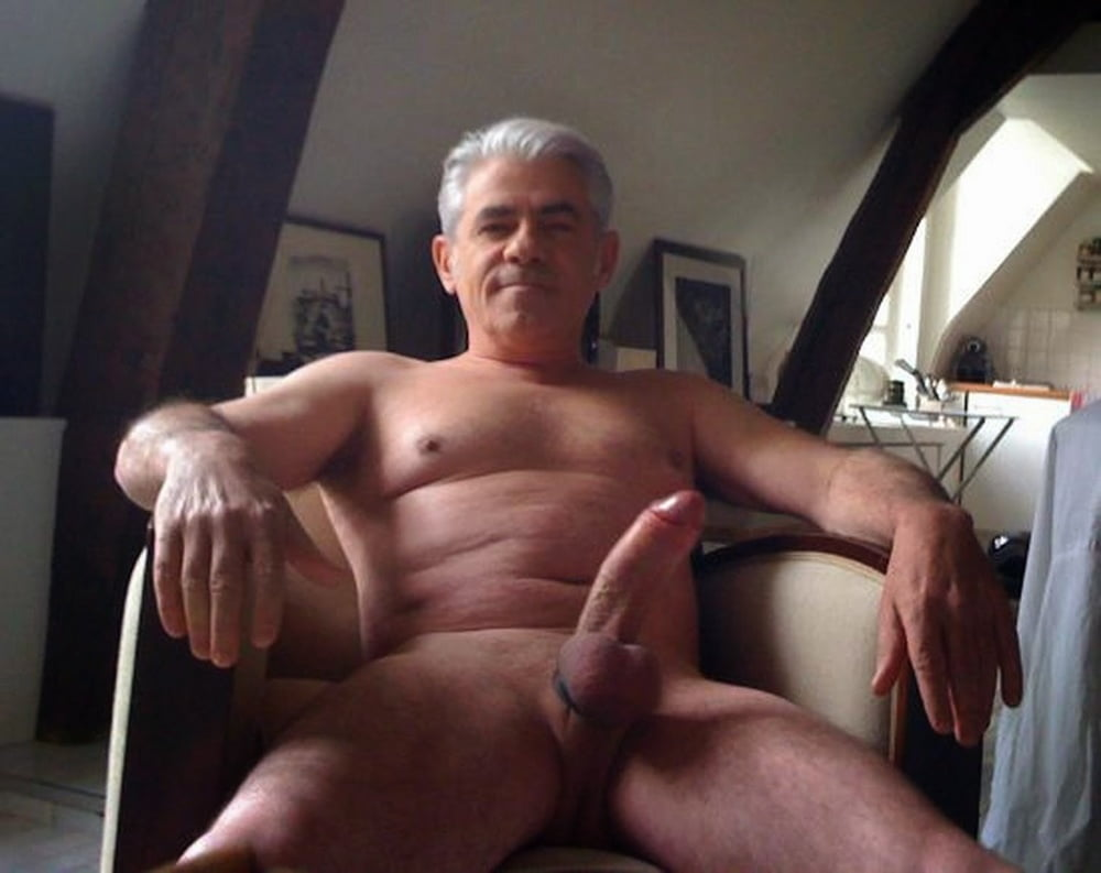 Nude thick man