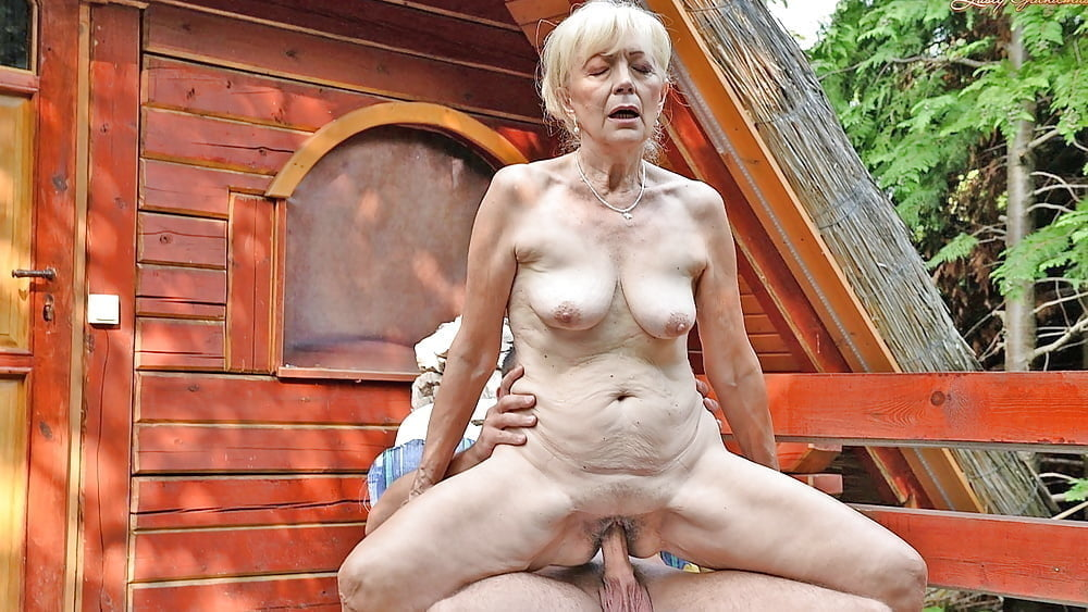 Nude granny funny
