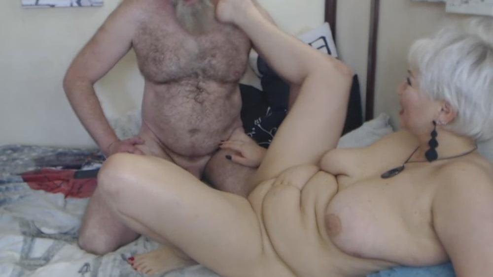 Hard rough sex of bearded daddy & blonde MILF cocksucker! - 123 Pics