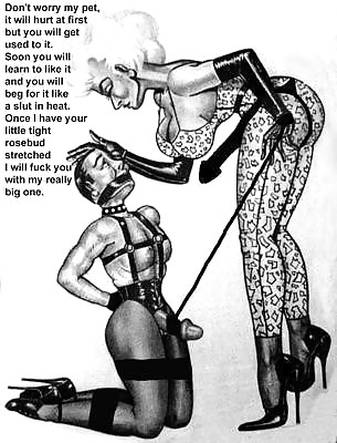 Female domination drawings and sketches