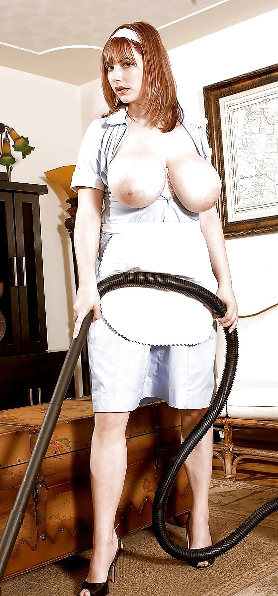 Maid with big tits