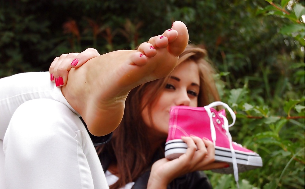 Sexy barefoot licking girls teen fucks couple
