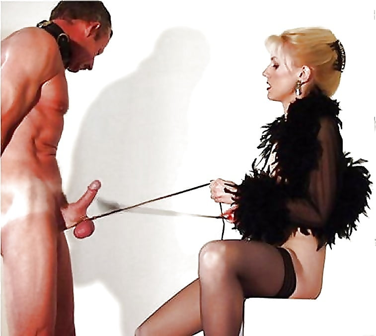 Mistress caning cock