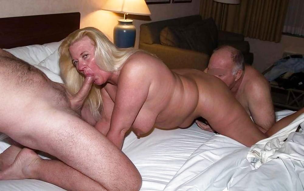 Amateur wife british senior fucks
