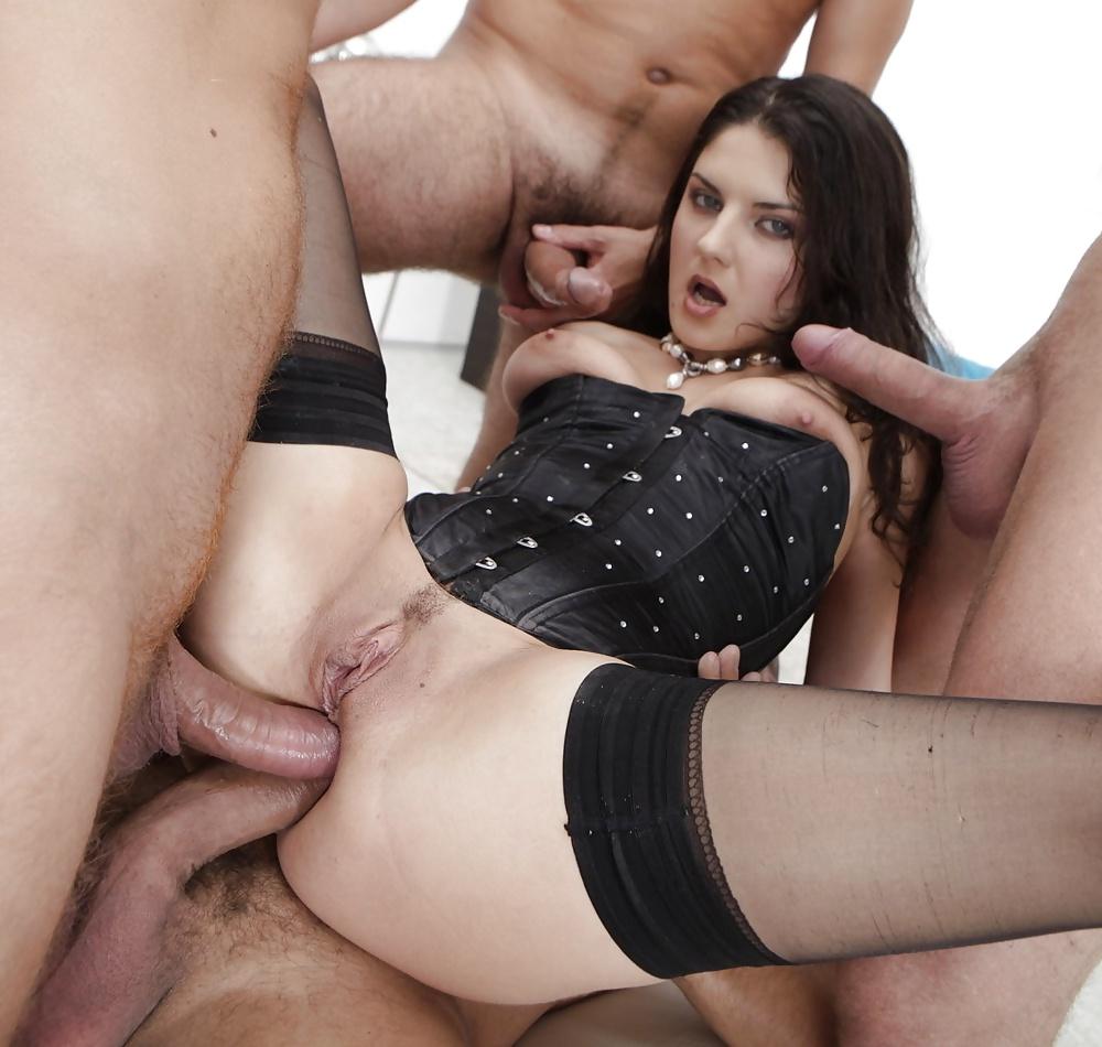 Hot Gangbang Of Francesca Le