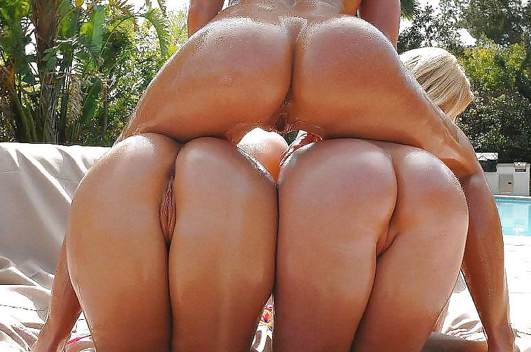 Girls ass stacked porn