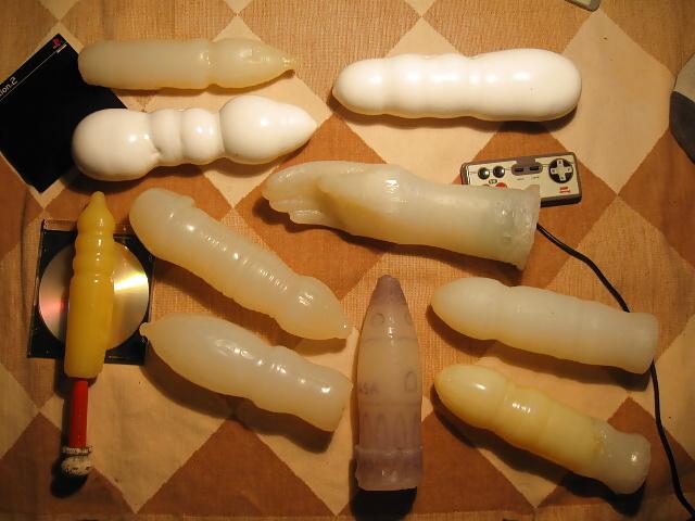 Homemade dildos for men