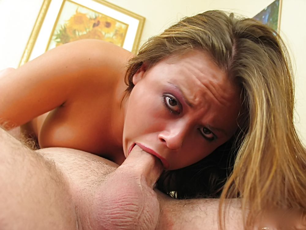 Cock suck girl blow
