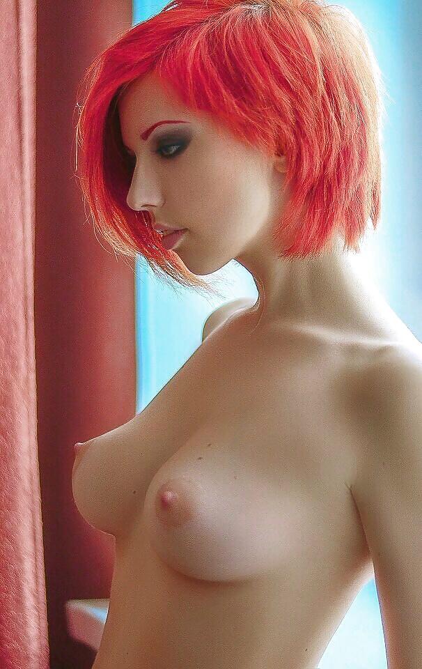 Natural red hair porn