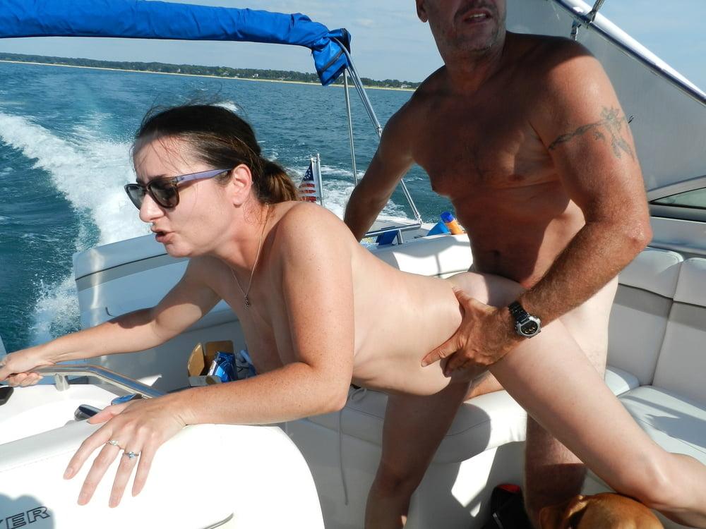 Amateur wife fucking on boat