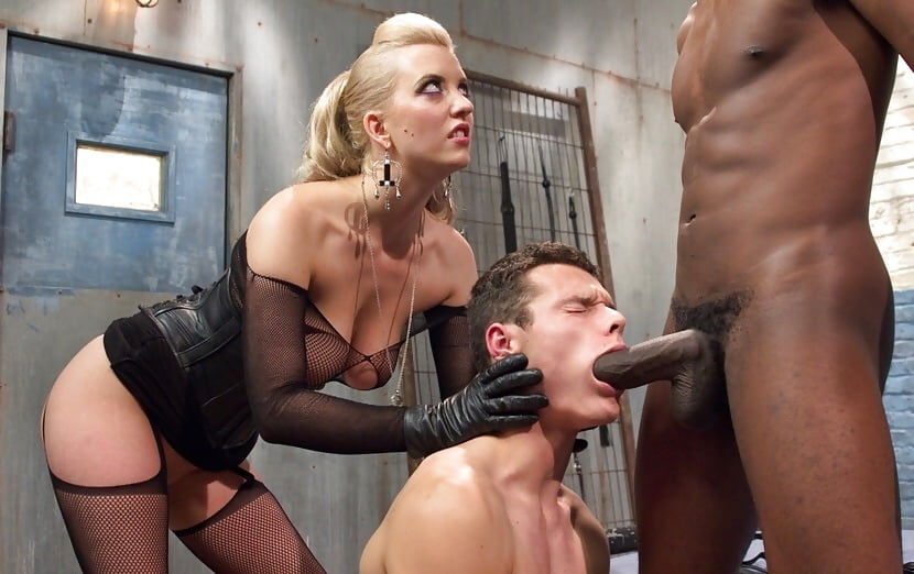 Sexy women porn stars dominating studs