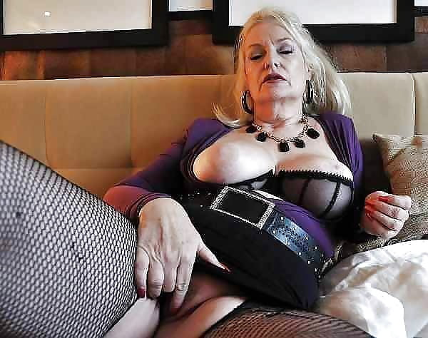Very old women flashing their saggy tits