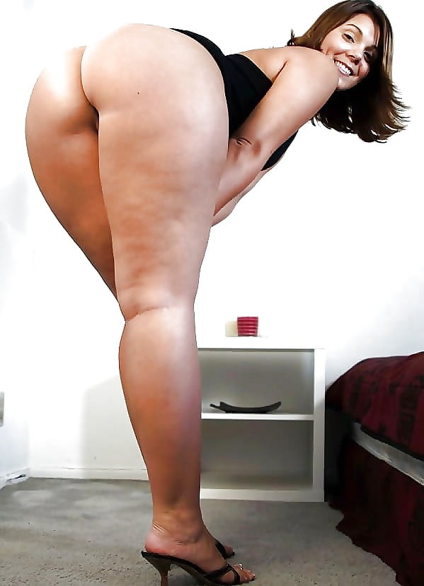 Thick mount of ass