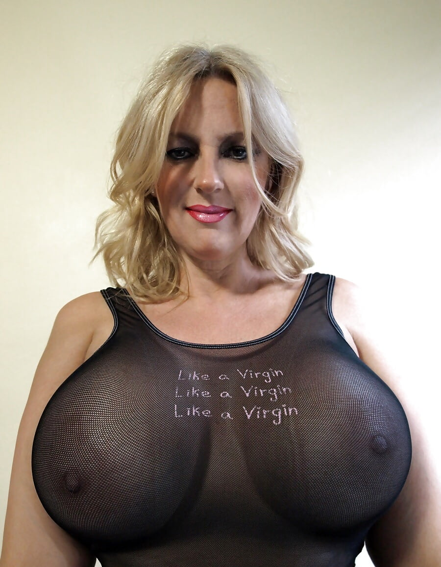 Biggest tits in england