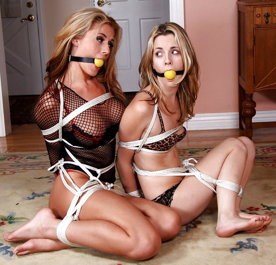 Hot girl tied up and gagged