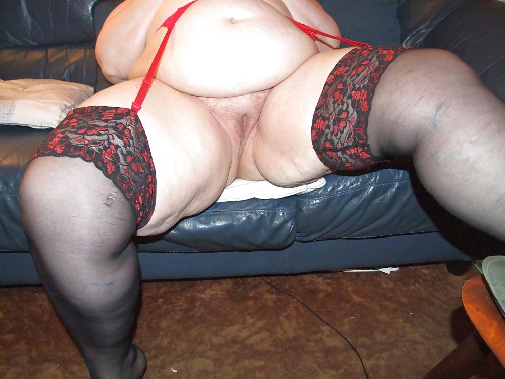 Hose strangled mature bbw secretary stockings young