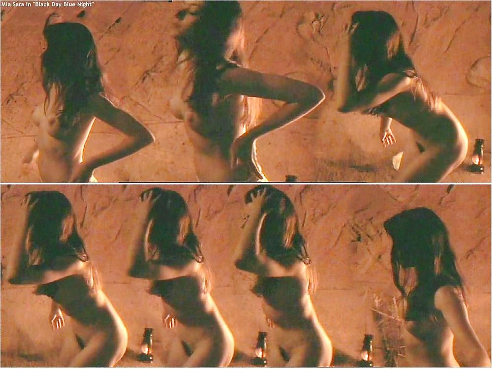 Mia sara laura murdoch shows off pussy hot sex photo