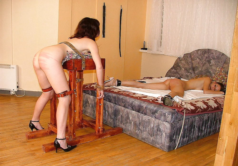 Spanking Of Sexy Red Headed Milf In Harsh Submission And Red Bottom Punishment