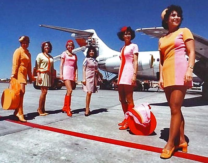 Sexy Stewardess Pictures Braniff