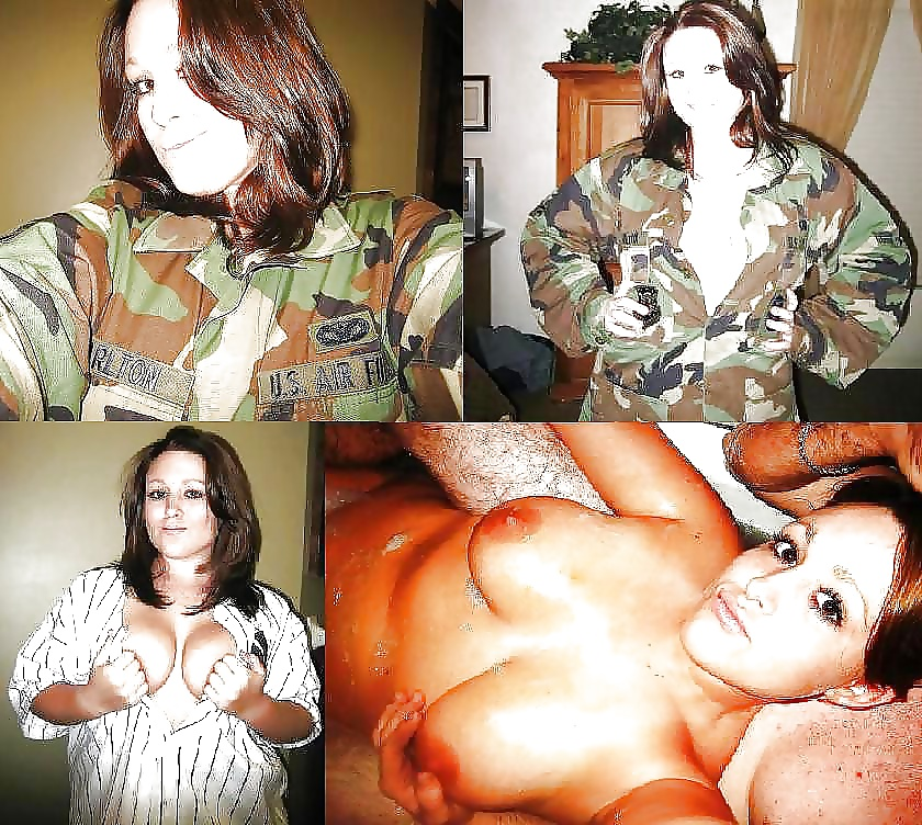 girls undressed army Naked dressed