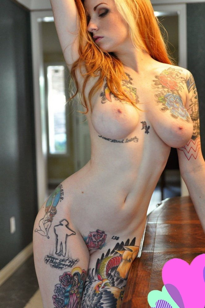 Hot girls with tattoos nude