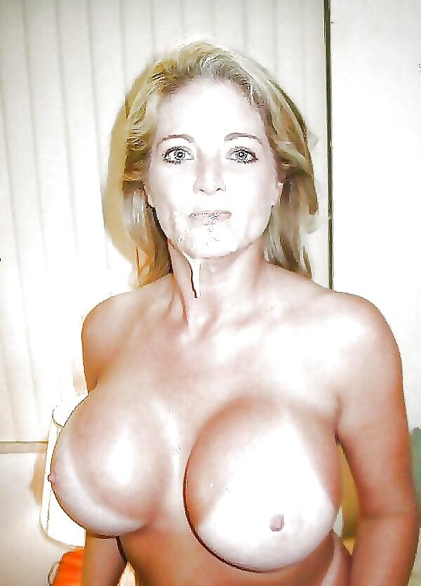 Amateur pam blond milf with hugh tits
