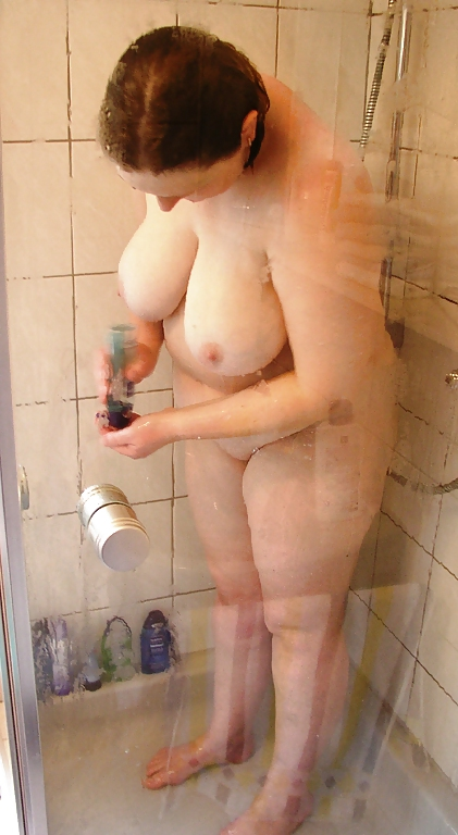 Grannies caught naked in a shower on a voyeur spy cam
