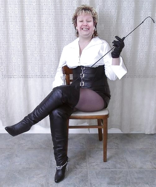 Grandmother became a dominatrix following her divorce