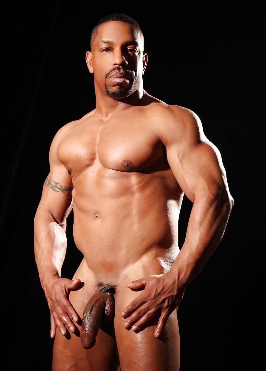 Black gay muscle porn pics