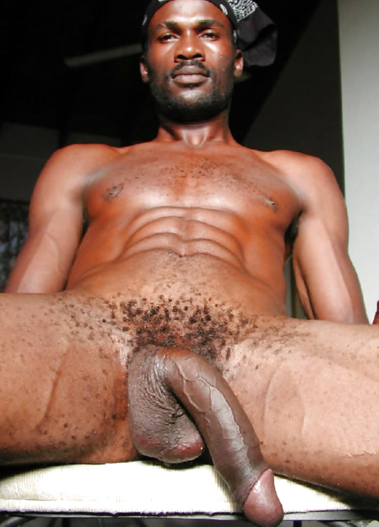 Hot Black Man With Nice Abs And Huge Dick