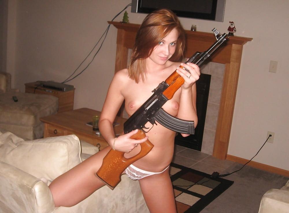 Nude girl masturbate with gun, jordan capri threesome