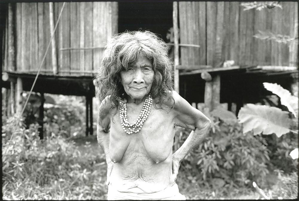 Granny empty tits
