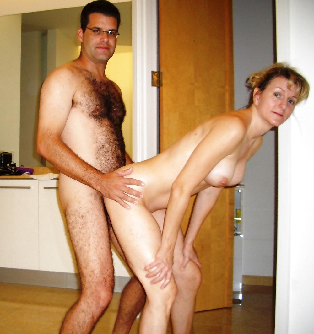Youthful mature couple image photo